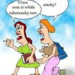 tehotenský test