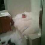 Ale mami čo sa ti nepáči...veď je to len malý relaxačný kúpeľ...