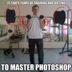 Vskutku, majster photoshopu